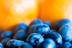 Sweet Blue & Juicy Orange (DobingDesign) Tags: fruit blueberries oranges depthoffield macro macrophotography healthy edible summerfruits bokeh smooth detail colour saturated sweet juicy organic berries fruity texture food superfood healthyeating