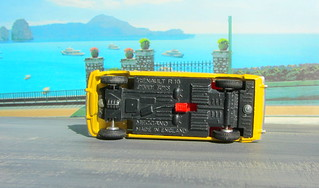 Dinky Toys Renault R16 No.166 1967 : Diorama PS2 GT4 Computer Game Backdrop Costa di Amalfi - 27 Of 31