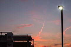 sunset over new construction (severalsnakes) Tags: kansas pentax rokinon8514 saraspaedy shawnee clouds k1 manualfocus sky sunset