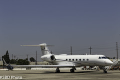 HS-KPI G550 (KSBD Photo) Tags: burbank california unitedstates us hskpi g550 gulfstream glf5 gulfstreamfan gulfstreamforever fanfriday