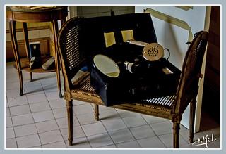 Accessoires de toilette / Bathroom accessories - Maison Rostand / Rostand's house - Cambo-les-bains