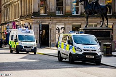 Ford Transit Customs + Peugeot Boxer Glasgow Scotland 2017 (seifracing) Tags: ford transit customs peugeot boxer glasgow scotland 2017 scottish ambulance services seifracing spotting security emergency europe ecosse rescue recovery transport traffic cars cops car vehicles voiture vehicle urgence road polizei polizia policia polis policie politie photography chortta seif