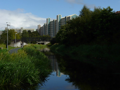 The Union Canal, Wester Hailes