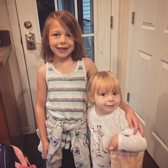 Mornings With The Munchkins (matthewkaz) Tags: madeleine norah daughter daughters child children toddler home house burcham eastlansing michigan 2017