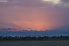 Atardecer en la laguna (Redstone...) Tags: nautic camping almata sanpedro rosas atardecer montañas vistas