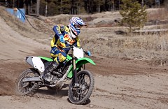 Kawasaki (Sonnikone) Tags: dirt dirtbike motocross kawasaki moottoripyörä enduro offroad track pori yyteri speed