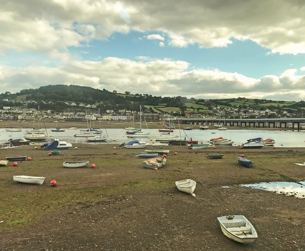 Teign Estuary and Shaldon Bridge