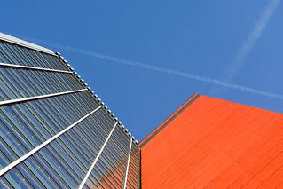 Orange skyscraper