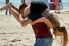 Plastered (Hodd1350) Tags: dorset poole sandbanks beach sand couple man male woman female havingfun plasters sony sonylens sonyfe70300 a7rll