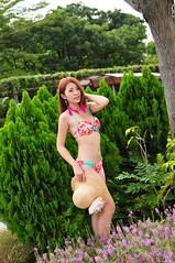 Sherry0001 (Mike (JPG直出~ 這就是我的忍道XD)) Tags: sherry 自來水博物館 d300 model beauty 外拍 portrait 2014 swimsuit 泳裝