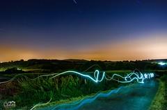 Jugando con la luz (JUAN CARLOS LOPEZ CHAOS) Tags: 2017 galicia lightpainting nocturna paisaje