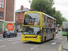 NCT 906 YT61GOJ Mansfield Rd, Nottingham on 69 (1280x960) (dearingbuspix) Tags: nottinghamcitytransport go2 yt61goj 906 6869 6869yellowline yellowline yellowline6869