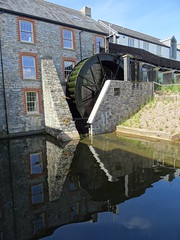 Higher Mill (guyfogwill) Tags: 2017 august buckfast buckfastabbey buckfastleigh devon guyfogwill machinery mill moulin moulinàmarée reflection unitedkingdom waterwheel gbr