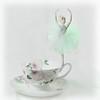 Dancing on a Teacup (Explored) (lclower19) Tags: 3952 522017 diy light gel ballerina teacup green flashlight explored