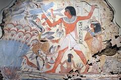 Nebamun hunting (konde) Tags: nebamun 18thdynasty thebes newkingdom tombrelief tombpainting ancientegypt britishmuseum art cat treasure birds hieroglyphs papyrus