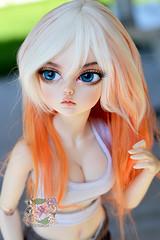 Alyssa (crazykimochi) Tags: alyssa minifee marcia mnf fairyland bjd msd balljointeddoll