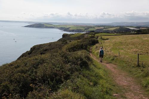 Nearing Polruan - St Austell Bay