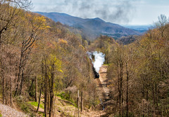 Steam Dreams *explore* (Wheelnrail) Tags: nw norfolk western 611 steam locomotive railroad rail road trains rails 484 queen north carolina loops old fort blue ridge mountains southern state nc ns s line