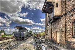 Didcot Steam Centre 31 (Darwinsgift) Tags: didcot steam centre nikkor 19mm f4 pc e tilt shift nikon d810 hdr train railway museum