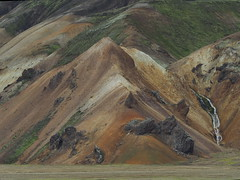 "Landmannalaugar in Iceland (Say ""Wasabi"") Tags: iceland island landscape scenery olympus m43 omdem5ii mountain greenery surreal beautiful moss craters lava volcanic volcano iron mzuiko 40150 landmannalaugar"