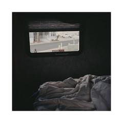 Desert Shadows by BlPlN - Rolleiflex 3.5B, Portra 400