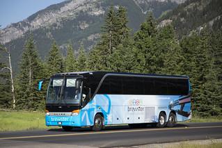 Brewster Travel (Canada) 1140, Banff, Alberta, July 2017