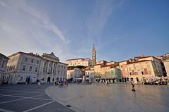 "Tartinijev Trg ""Plaza de Tartini"" (carloscarmor) Tags: piran pirano istria slovenija eslovenia slovenia tartinijevtrg plazatartini"