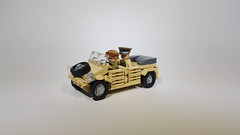 Kubelwagen (Project Azazel) Tags: lego custom legocustom kubelwagen legokubelwagen projectazazel dak ww2lego legovehicle vehicle german legogerman
