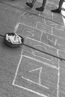 Hopscotch Sidewalk 6167 B