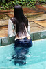 Luna takes a dip in the pool (Wet and Messy Photography) Tags: wetlook wet wethair wetclothes wetjeans boots leather leatherboots luna brasil pool swim dive