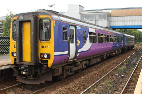 Class 156: 156429 Northern MetroCentre