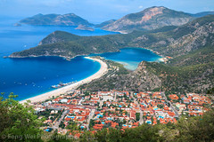 Ölüdeniz, Fethiye, Muğla, Turkey (Feng Wei Photography) Tags: traveldestinations fethyie landscape turquoisecolored highangleview hike landmark eastasia bluelagoon colorimage mediterraneansea euroasia turquoisecoast sea turkeymiddleeast tourism ölüdeniz mediterraneanturkey oludeniz beautyinnature travel turkish famousplace lycianway outdoors scenics turkishculture horizontal lycia muglaprovince fethiye muğla turkey tr