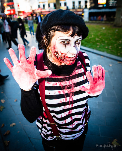 Glass Wall Mime by SoulStealer.co.uk, on Flickr