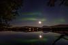 Prestvannet (John A.Hemmingsen) Tags: auroraborealis tromsø prestvannet mountains moon midnight nordnorge night northernlights landscape l