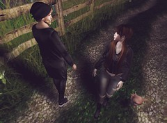 † 964 † (BillitaUnderZone) Tags: monso catwa eclipse ed blueberry kvh alchemy birdy pose couple secondlife sl virtual pixel road new