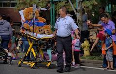 Sick Bear (swong95765) Tags: stuffedanimal germey oxygen medical transport parade iv emergency emt people