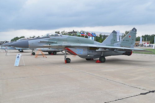 Mikoyan-Gurevich MiG-29SMT 'RF-92312 / 32 blue'
