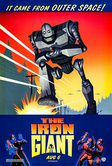 The Iron Giant (1999) (Tom Simpson) Tags: theirongiant 1999 1990s robot film movie animation poster posterart movieposter