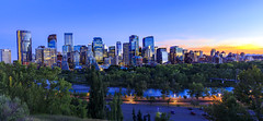 Calgary Downtown at Color Cloud (Bluesky251) Tags: alberta architecture beautiful blue bow bowriver bridge buildings calgary canada cityscape cloud colour commerical dark downtown exposure fall forest grass green home lights natural nature night nightscape nighttime orange panorama parno popular red river road seasons shrub sky skyline street sunset tourist tower travel trees urban warm water world yellow zone photography view