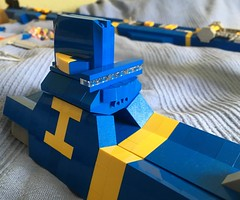 SHIPtember 2017 WIP 9 (LettuceBrick) Tags: shiptember wip lego ikea spaceship bridge