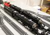 N&W A and Y6b on PennLUG's layout at Brickfair Va 2016 (Cale Leiphart) Tags: nw train lego rr railroad railway steam locomotive aclass 1218 y6b 2882 norfolkwestern 2200