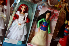 Ariel_Mulan disney store 2017 (Lindi Dragon) Tags: doll disney disneyprincess disneystore dolls collection ariel mulan 2017