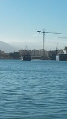 20170112_142115 (rugby#9) Tags: costadelsol malaga spain harbour port water sea sky bluesky boat boats ship ships vessels cranes constructioncranes portcranes docks buildings