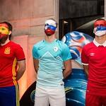 ˝Žive lutke˝ na žrebu skupin prihajajočega UEFA Futsal EURO 2018. Foto: Vid Ponikvar