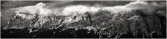 The Wall... (Ody on the mount) Tags: anlässe berge dolomiten em5ii fototour gipfel heiligkreuzkofel himmel italien mzuiko40150 omd olympus panores panorama südtirol urlaub wolken bw clouds monochrome mountains sw sky