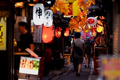 Tokyo ( Shinjuku ) 102 (kaifudo) Tags: tokyo shinjuku japan omoideyokocho 東京 新宿 思い出横丁 nikon d810 nikkor afs 105mmf14eed 105mm