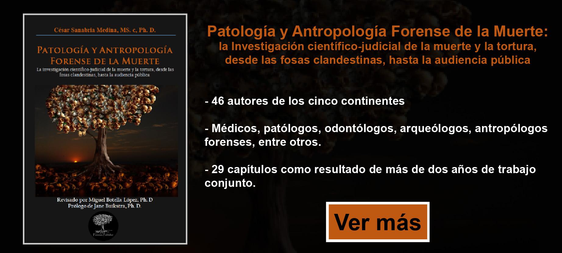 Patología y Antropología Forense