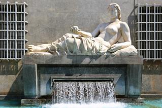 Dora fountain, Turin, Italy