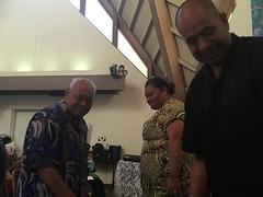 The Reception Service of Satauro o le Ola-Cross of Life UCC Sunday September 17, 2017