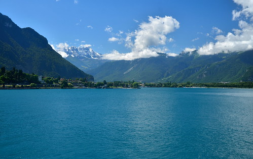 Lake Geneva and Dents du Midi